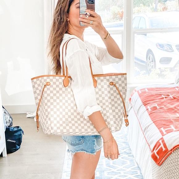 Louis Vuitton Handbags - Louis Vuitton Damier Azur Neverfull GM Tote Bag